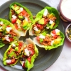 Turkey Lettuce Boats