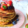 Almond and Banana Pancakes