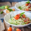 Cherry Tomato Zucchini Noodles
