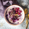 Vegan Sour Cherry Overnight Oats