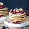 Almond Oats Pancakes