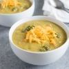 Broccoli Cheddar and Potato Soup