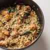 Pumpkin, Spinach and Walnut Quinoa