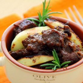 Beef Stew with Dates and Brandy