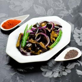 Sri Lankan Eggplant Pickle