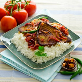 Deviled Tuna With Rice