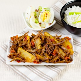 Sri Lankan Dried Sprats Stir Fry