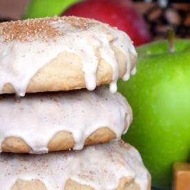Caramel-stuffed Apple Spice Cookies