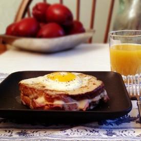 Croque-Madame Sandwiches