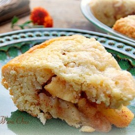 Apple Scone cake