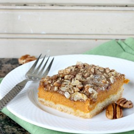 Gooey Pumpkin Bars