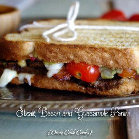 Steak and Bacon Panini