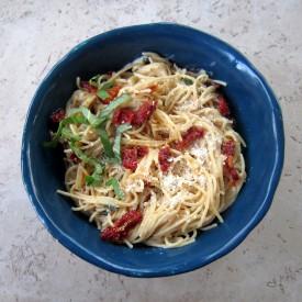Sun-dried Tomato Carbonara