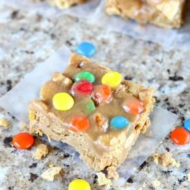 Peanut Butter Crunch Bars