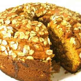Skinny Pumpkin Coffee Cake, Yum!