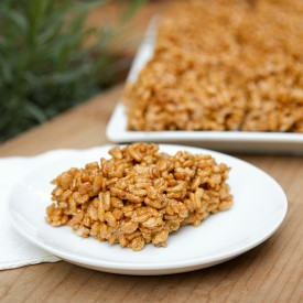 Pumpkin pie rice crispy treats