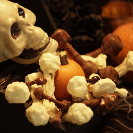 Chocolate Pretzel Bones