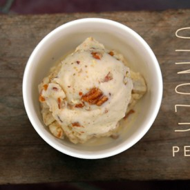 Ginger Pecan Ice Cream