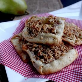 Mini Pear Tarts with Almond Crumble