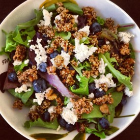 Blueberry & Honey Cluster Salad