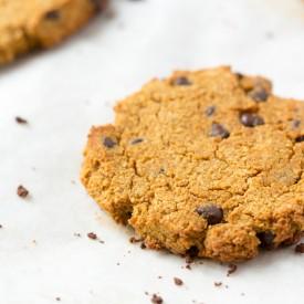 Pumpkin Spice Chocolate Chip Cookie