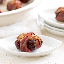 Bacon Wrapped Chorizo Stuffed Dates