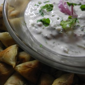 Red Onion Raita
