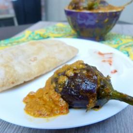 Stuffed Eggplant Curry