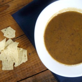 Black Bean Soup with Chipotles