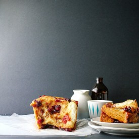 Caramelized Cranberry & Brie Bread