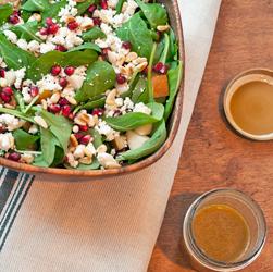 Arugula Pear Goat Cheese Salad