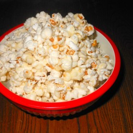 Sticky Popcorn (Soft Caramel Corn)