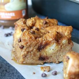 Pumpkin Nutella Bread Pudding
