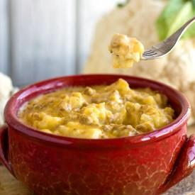 Cauliflower No-mac & Cheese