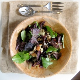 Salad w. Balsamic Honey Vinaigrette