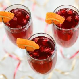 Pomegranate Orange Spritzer