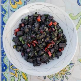 Blueberry Liver Saute