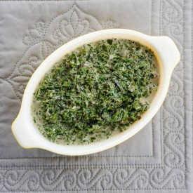Curry Coconut Creamed Kale