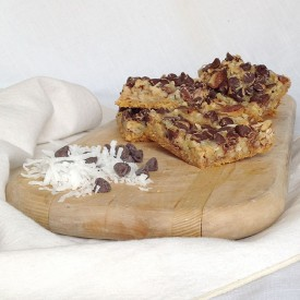 Malted Magic Cookie Bars