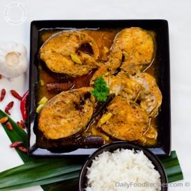 Red Fish Curry (Miris Malu)