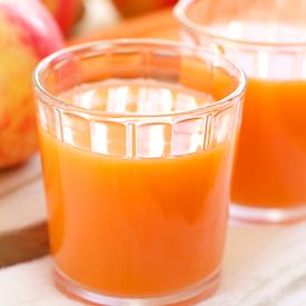 Skin Smoothing Carrot Apple Juice