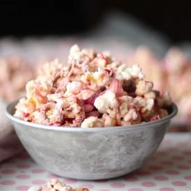 Pink Chocolate Popcorn