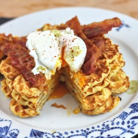 Crispy Potato Waffle