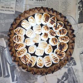 Gluten-Free Vegan Smore's Pie