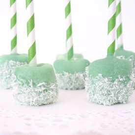 Vegan Marshmallow Pops