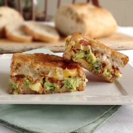 Grilled Cheese w/Bacon & Guacamole