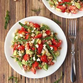 Quinoa Strawberry Avocado Salad