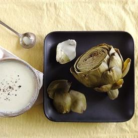 Artichokes with Parmesan Yogurt