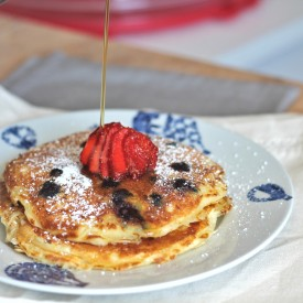 Buttermilk Blueberry Pancake