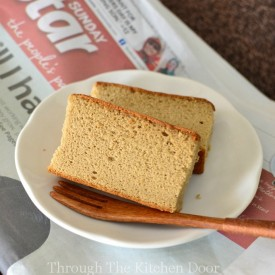 Coffee Castella Cake